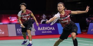 Hasil Thailand Open II 2021 - Greysia/Apriyani Cuma Butuh 25 Menit untuk ke Perempat Final