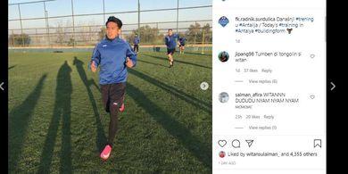 VIDEO - Gol Debut Witan Sulaeman di Tim Utama FK Radnik Surdulica, Taklukkan Kiper Tim Liga Rusia