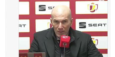 Respons Zidane soal Rumor Real Madrid Dikeluarkan dari Liga Champions