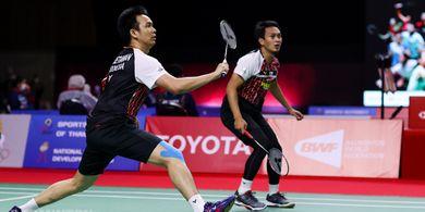 Thailand Open II 2021 - Tekad Ahsan/Hendra pada Babak Semifinal