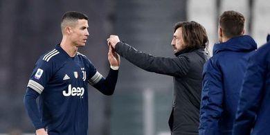 Pirlo Minta Cristiano Ronaldo Tak Buang Tenaga Bantu Lini Belakang Juventus