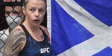 Hasil UFC 257 - Ratu Kardio dari Skotlandia Menang Angka Lagi