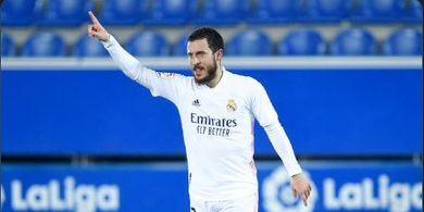 Tanpa Zidane, Eden Hazard Cetak Gol Perdananya Setelah 3 Bulan.