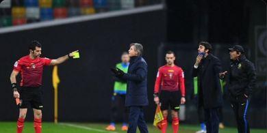 Dua Alasan Antonio Conte Konflik dengan Wasit di Laga Inter Milan Kontra Udinese