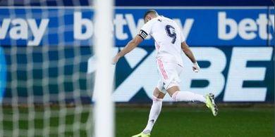 Babak I Alaves Vs Real Madrid - Kiper Tuan Rumah Tepis Angin dan Eden Hazard Nyekor, Los Blancos Unggul 3-0