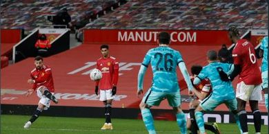 Jadi Pahlawan Kemenangan Man United atas Liverpool, Bruno Fernandes Manusia Tertajam di Inggris