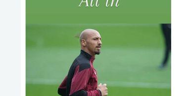 AC Milan Dicukur Atalanta, Zlatan Ibrahimovic Ikutan Botak Mirip Stone Cold
