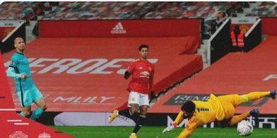 Hasil Piala FA - Klopp Lagi Ngobrol, Man United Cetak Gol, Liverpool Ambrol