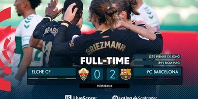 Hasil Liga Spanyol - Pemain Paling Dibenci Koeman Cetak Gol, Barcelona Menang Tanpa Lionel Messi