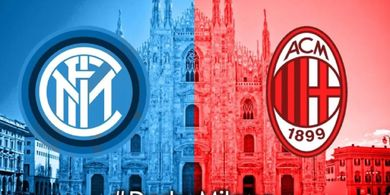 Link Streaming Inter Milan Vs AC Milan di Perempat Final Coppa Italia