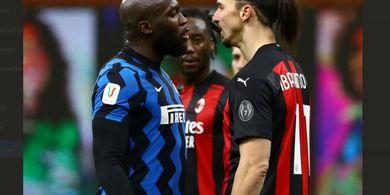 Kronologi Duel Ibrahimovic Vs Lukaku, Dendam Masa Lalu yang Dibawa ke Derbi Milan