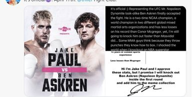 Lawan Petinju YouTuber, Legenda UFC Disembah Jadi Penyelamat MMA Sepanjang Zaman
