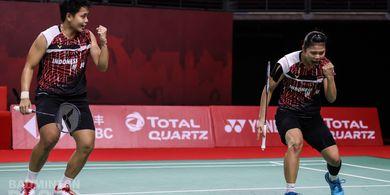 Hasil BWF World Tour Finals 2020 - Menang Lagi, Greysia/Apriyani Puncaki Grup A