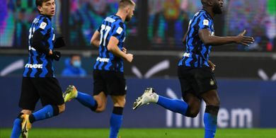 Hasil Coppa Italia - Zlatan Ibrahimovic Kartu Merah, Inter Milan Hajar AC Milan di Laga Derbi
