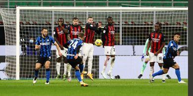 VIDEO - Gol Perekik Christian Eriksen Menangkan Inter Milan di Menit 97, Pertama dalam 3 Tahun