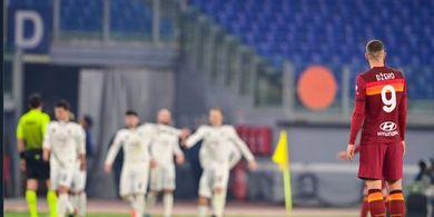 Jelang Jumpa AC Milan, AS Roma Terancam Ditinggal Edin Dzeko