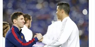 Spesial Valentine - Kelakuan Bucin Lionel Messi dan Cristiano Ronaldo