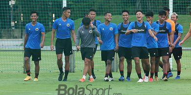 Catat, Dua Laga Uji Coba Timnas U-22 Indonesia Disiarkan di TV Nasional