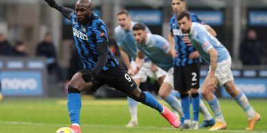 Susunan Pemain Inter Milan Vs Atalanta - Waktunya Romelu Lukaku Kejar Cristiano Ronaldo