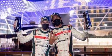 Sean Gelael Raih Kemenangan Perdana pada Balapan Asian Le Mans Series