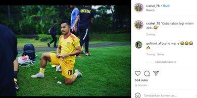 Sumringah Tatap Musim 2021, Pemain Ini Siap Bawa Sriwijaya FC Kembali ke Habitatnya