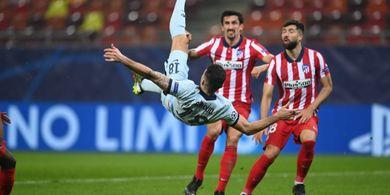 Chelsea Benamkan Atletico Madrid dengan Gol Salto Olivier Giroud
