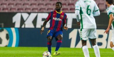 Samuel Umtiti Sudah Bersedia Pergi, tapi Syaratnya Nyusahin Barcelona