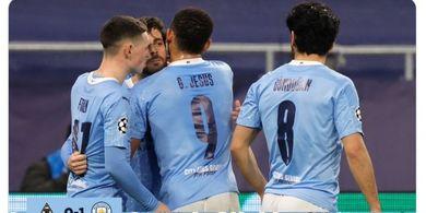 Baru Menang Satu Leg di Liga Champions, Pemain Man City Sudah Bicara Target Quadruple