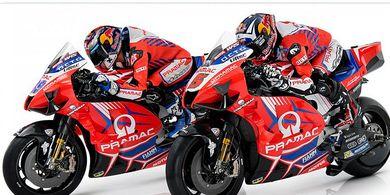 Wajah Baru Tim Pramac Racing dan Johann Zarco yang Berapi-api