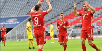 Hasil dan Klasemen Bundesliga - Lewandowski 34 Gol, Neuer Ngambek ke Teman, Bayern Bantai Koeln