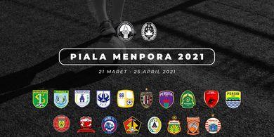 Tak Pakai Cara FIFA, Ini Regulasi Pergantian Pemain di Piala Menpora 2021