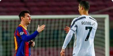 Rekap Perbandingan Gol Messi dan Ronaldo dalam 12 Musim Terakhir
