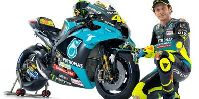 Sah Berseragam Yamaha Petronas di MotoGP 2021, Ini Kalimat Pertama Valentino Rossi