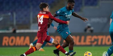 Franck Kessie Jadi Bruno Fernandes-nya AC Milan, AS Roma Dibikin Keok di Babak Pertama