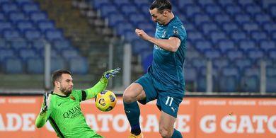 Hasil Liga Italia - Ibra Masih Puasa, AC Milan Bangkit dan Permalukan AS Roma