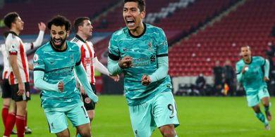 Hasil Liga Inggris - Kiper Sheffield Ukir Rekor Penyelamatan, Liverpool Menang Berkat 2 Blunder