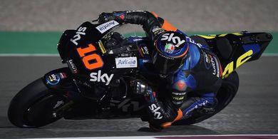 Tak Terkejut Pertama Kali Kendarai Motor MotoGP, Luca Marini  Ungkap Rahasianya