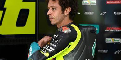Luca Marini Lebih Cepat, Valentino Rossi Mengaku Tidak Nyaman dengan Motornya