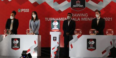 Hasil Lengkap Undian Piala Menpora 2021, Grup Neraka Tercipta