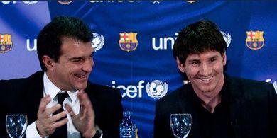 3 Hal Bisa Terjadi di Barcelona Era Joan Laporta: Messi Batal Pergi, Guardiola Kembali