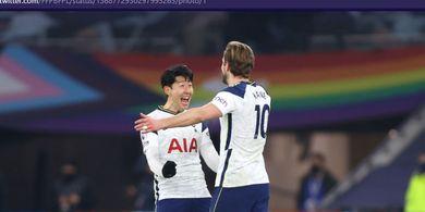 Duet Legendaris Liga Inggris Minggir, Kane-Son Jadi Pasangan Paling Garang