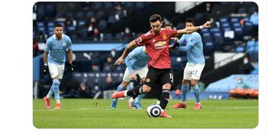 Langit Merah di Kota Manchester Iringi Berakhirnya Rekor Apik Man City