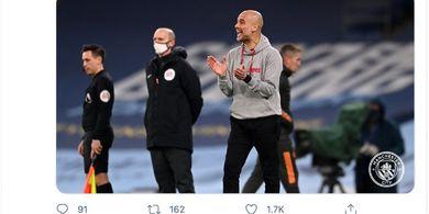 Pep Guardiola Tahu Sudut Pandang Berita Usai Man City Kalah dari Man United