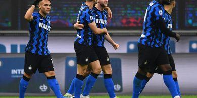 Hasil Liga Italia - Lukaku Tak Bikin Gol, Inter Milan Cuma Menang Tipis Atas Atalanta