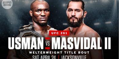 Musim Pandemi, Bos UFC Malah Bebaskan Penonton Tanpa Masker di UFC 261