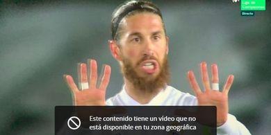 Liverpool Vs Real Madrid - Jelang Leg Kedua, Sergio Ramos Positif Covid-19