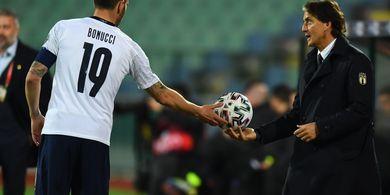 Euro 2020 - Italia Vs Turki, Masa Lalu Mancini Jadi Sorotan Tamu