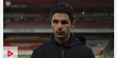 Kans Arsenal Berkompetisi di Level Eropa Tipis, Begini Komentar Arteta