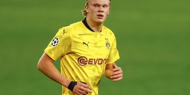 Erling Haaland Terus Digoda Barcelona dan Real Madrid, Begini Tanggapan Bos Dortmund