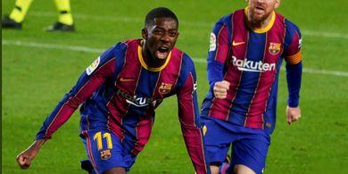 Soal Kontrak Baru dari Barcelona, Ousmane Dembele: Belum Ada Tuh!